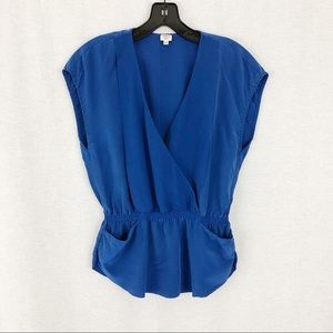 Wilfred 100% Silk Blouse VNeck